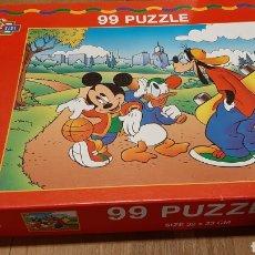 Juegos educativos: 1988 MICKEY KIDS 99 PUZZLE 32X23 MASTER LINE. Lote 288995788
