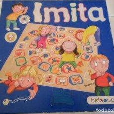 Juegos educativos: JUEGO EDUCATIVO IMITA, TABLERO Y PIEZAS DE MADERA. Lote 294096813