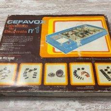 Juegos educativos: JUEGO CEFAVOX LABORATORIO DE ELECTRONICA Nº 1. Lote 294476048