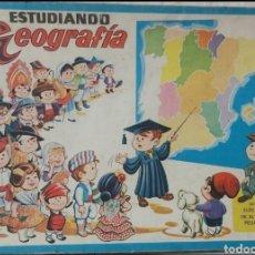 Juegos educativos: ANTIGUO JUEGO DIDACTICO ESTUDIANDO GEOGRAFIA. Lote 296701863
