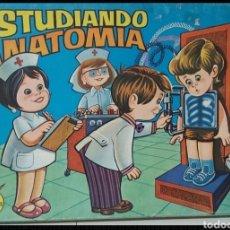 Juegos educativos: ANTIGUO JUEGO DIDACTICO ESTUDIANDO ANATOMIA. Lote 296731843