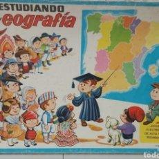 Juegos educativos: ANTIGUO JUEGO DIDACTICO GEOGRAFÍA ESPAÑA. Lote 296742908