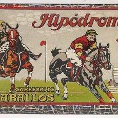 Juegos de mesa: ANTIGUO JUEGO DE MESA HIPODROMO - CARRERA DE CABALLOS. Lote 27373728