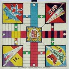 Juegos de mesa: ANTIGUO PARCHIS CON PUBLICIDAD POLITICA 1937. Lote 25146861
