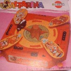 Juegos de mesa: JUEGOS DE MESA: JUEGO SALTARINA, EN CAJA.. Lote 13551457