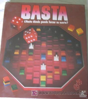 Juego Basta De Borras Comprar Juegos De Mesa Antiguos En
