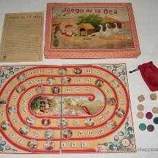 Juegos de mesa: ANTIGUO JUEGO DE LA OCA - COMPLETAMENTE ORIGINAL, CON INSTRUCCIONES - LA CAJA DE CARTON MIDE 28 X 21. Lote 27547588