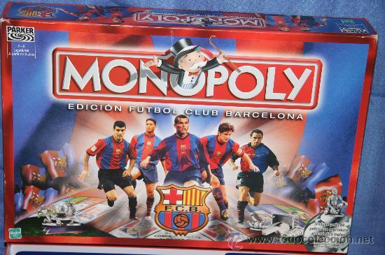 Monopoly Edicion Futbol Club Barcelona Hasb Comprar Juegos De