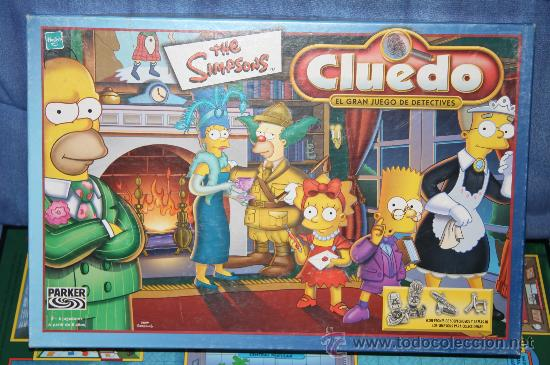 Cluedo The Simpsons Parker Hasbro Comprar Juegos De Mesa