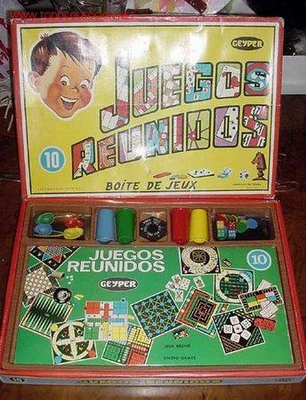 Juegos de mesa: JUEGOS REUNIDOS GEYPER - NUMERO 10 - CONTIENE CUATRO CUBILETES - CUATRO RATONES - UNA PEONZA - CUATR - Foto 2 - 190688440