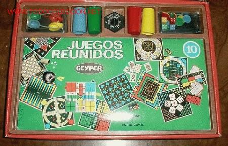 Juegos de mesa: JUEGOS REUNIDOS GEYPER - NUMERO 10 - CONTIENE CUATRO CUBILETES - CUATRO RATONES - UNA PEONZA - CUATR - Foto 3 - 190688440