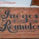 Juegos de mesa: JUEGOS REUNIDOS 1930. Lote 11575485
