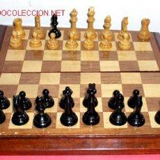Juegos de mesa: AJEDREZ DE MADERA. Lote 12270279
