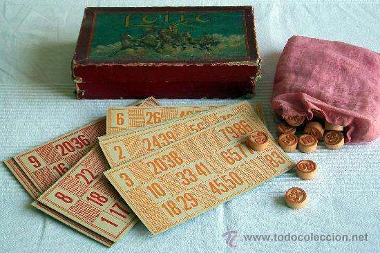 Juego De Mesa Lotto De Principio De 1900 Comprar Juegos De Mesa
