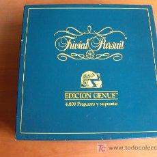 Juegos de mesa: TRIVIAL PURSUIT ORIGINAL AÑOS 80. ED. GENUS. 4.800 PREGUNTAS. 4 CAJAS.. Lote 27085534