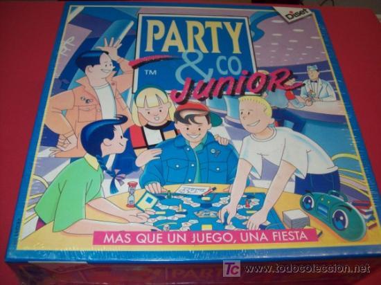 Party Co Junior Juego De Mesa Comprar Juegos De Mesa Antiguos