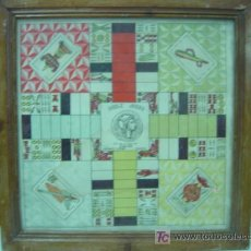 Juegos de mesa: ANTIGUO PARCHIS - DOBLE JUEGO TAHI, VALENCIA - DIBUJO DE BARAJA DE CARTAS - AÑOS 1930-40. Lote 23018205