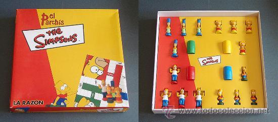 juego de parchs los simpsons  la razn  Comprar Juegos de mesa