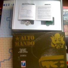 Juegos de mesa: JUEGO DE MESA ALTO MANDO . Lote 15782994