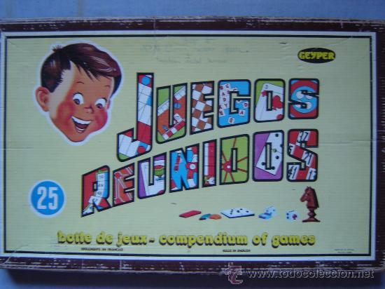 Juegos Reunidos Geyper 25 Anos 70 Casi Comp Comprar Juegos De