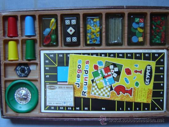Juegos de mesa: JUEGOS REUNIDOS GEYPER - 25 - AÑOS 70 CASI COMPLETOS!!!! - Foto 2 - 23029948
