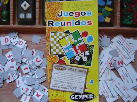 Juegos de mesa: JUEGOS REUNIDOS GEYPER - 25 - AÑOS 70 CASI COMPLETOS!!!! - Foto 4 - 23029948