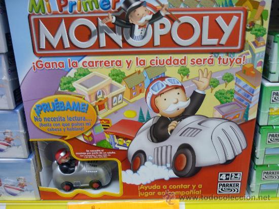 Monopoly Mi Primer Monopoly Completamente Nuev Comprar Juegos De
