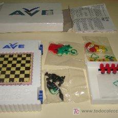 Juegos de mesa: MULTIJUEGOS DE RENFE - AVE. TRENES ESPAÑOLES. AJEDREZ, PARCHIS, BACKGAMMON, ESCALERAS.... . Lote 16519158