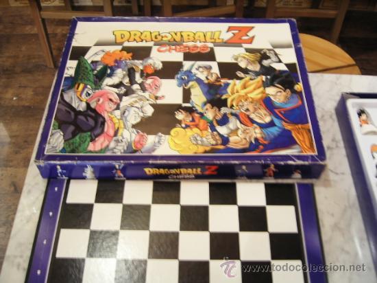 Ajedrez Dragon Ball Z Chess Comprar Juegos De Mesa Antiguos En