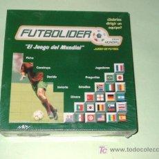 Juegos de mesa: JUEGO DE FUTBOL- FUTBOLIDER -APRENDE A LLEVAR TU PROPIO EQUIPO-MAGB-1996-2001. Lote 46799884