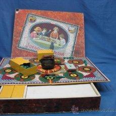 Juegos de mesa: JUEGO DE PUCHERIN - ANTIGUO JUEGO DE MESA. Lote 17179585