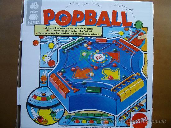 Juego De Mesa De Habilidad Pop Ball Mattel Comprar Juegos De Mesa