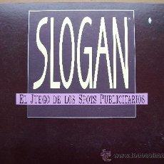 Juegos de mesa: JUEGO DE MESA - SLOGAN - DE DISET. Lote 27018586