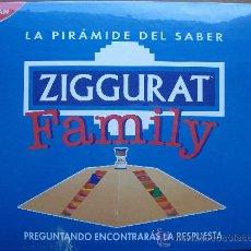Juegos de mesa: JUEGO DE MESA - ZIGURAT FAMILY - DE NATHAN. Lote 27018589