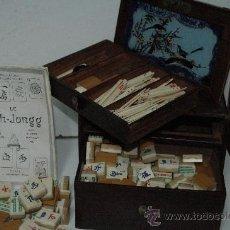 Juegos de mesa: JUEGO CHINO MAH-JONGG. Lote 27475504