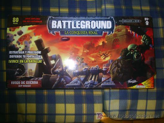 M69 JUEGO DE ESTRATEGIA Y HABILIDAD BATTLEGROUND LA CONQUISTA FINAL AGOTADO!!!! DE FAMOSA 80 FIGURAS (Juguetes - Juegos - Juegos de Mesa)
