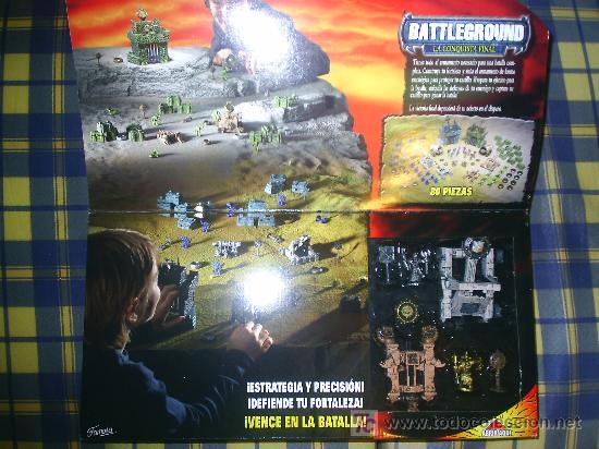 Juegos de mesa: M69 JUEGO DE ESTRATEGIA Y HABILIDAD BATTLEGROUND LA CONQUISTA FINAL AGOTADO!!!! DE FAMOSA 80 FIGURAS - Foto 2 - 22542142