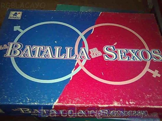 Batalla De Los Sexos De Borras Comprar Juegos De Mesa Antiguos En