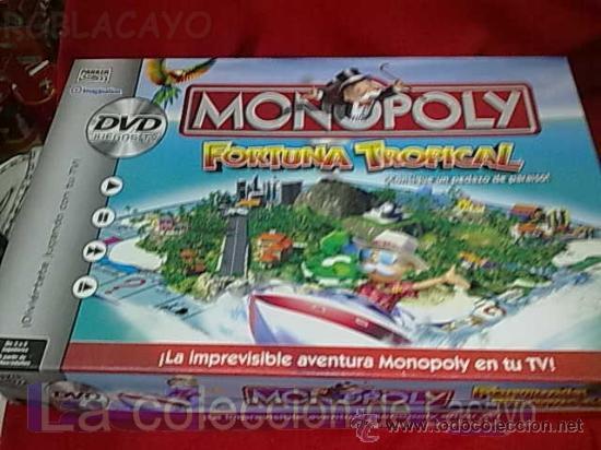 Monopoly Fortuna Tropical Espanol Y En Dvd De P Comprar Juegos De