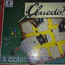 Juegos de mesa: CLUEDO DE BORRAS. Lote 19202956