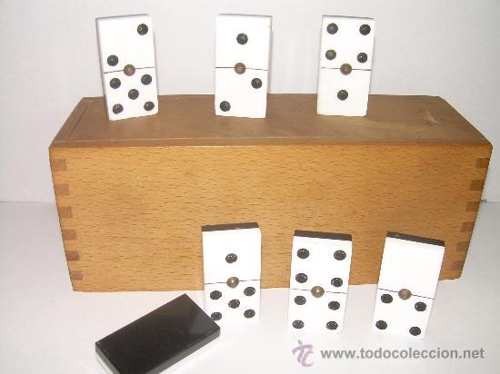 Juegos de mesa: ANTIGUO JUEGO DE DOMINO DE CELULOIDE (CAMPS)....PERFECTO ESTADO. - Foto 2 - 51132406