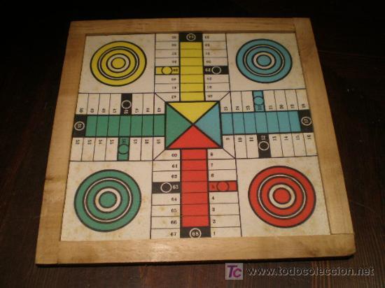 Antiguo Parchis Y Oca Anos 60 Comprar Juegos De Mesa Antiguos En