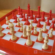 Juegos de mesa: AJEDREZ DE MADERA. Lote 19513591