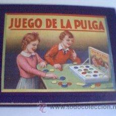 Juegos de mesa: JUEGO DE LA PULGA ANTIGUO AÑOS 30 (?). Lote 27637449