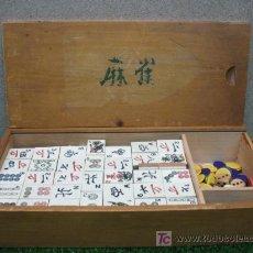 Juegos de mesa: DOMINO CHINO MAH JONGG. Lote 19859396
