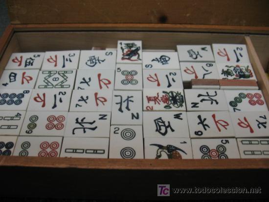 Juegos de mesa: DOMINO CHINO MAH JONGG - Foto 2 - 19859396