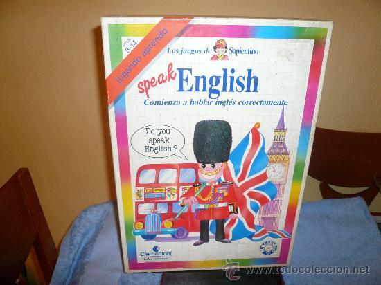 Juego De Mesa Aprender Ingles Anos 80 Comprar Juegos De Mesa