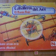 Juegos de mesa: JUEGO WARGAME NAC CABALLEROS DEL AIRE - EL BARÓN ROJO (1986) DESCATALOGADO!. Lote 26278321