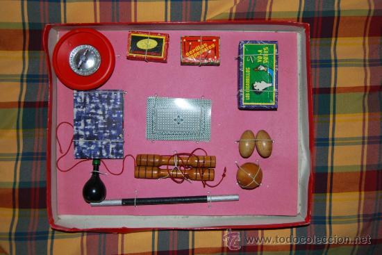 Juegos de mesa: JUEGO DE MAGIA BORRAS CON LITOGRAFIA SABATES AÑOS 60 - Foto 2 - 26405245