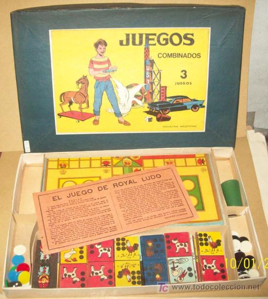 El Juego De Royal Ludo Argentina Anos 60tas 35 Comprar Juegos De